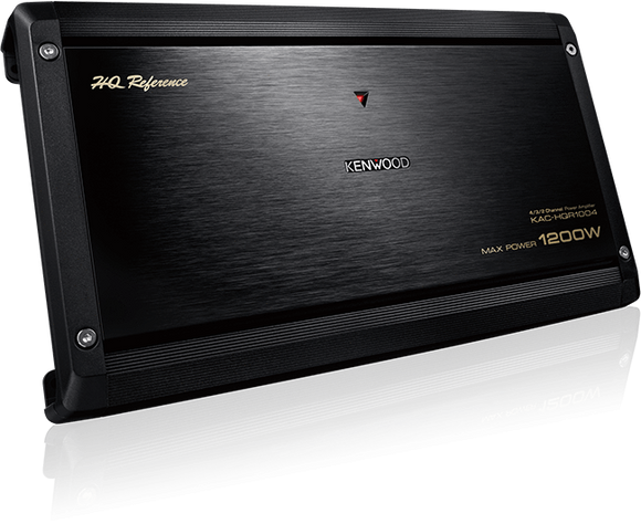 Kenwood KAC-HQR1004 AB-Class, 100W x 4ch Ultra Hi-Performance Amplifier
