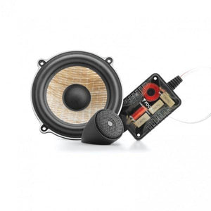 "FOCAL PS 130F 5"" Flax Component Speaker Kit, 60W RMS, 75Hz-28kHz"