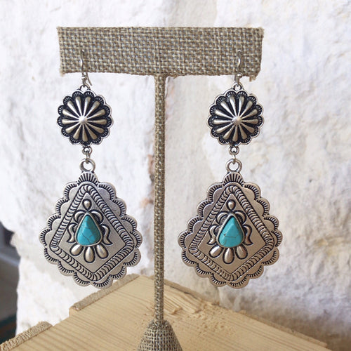 Scarlett Concho Earrings