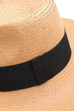 Load image into Gallery viewer, Xochitl Panama Straw Hat in Tan