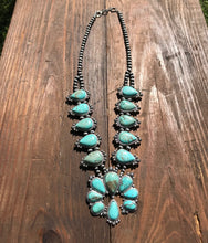 Load image into Gallery viewer, Dakota Full Squash Blossom Necklace
