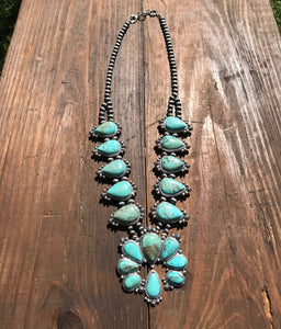 Dakota Full Squash Blossom Necklace