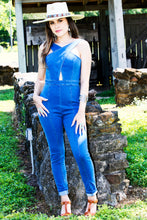 Load image into Gallery viewer, The Hannah Denim Jumpsuit