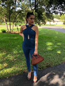 The Hannah Denim Jumpsuit
