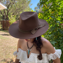 Load image into Gallery viewer, Sawyer Wool Hat - Pecan