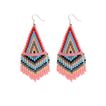 Load image into Gallery viewer, Bubble Gum Beaded Earrings