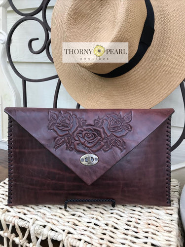 Flora Mexican Crossbody (Merlot)
