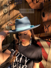 Load image into Gallery viewer, Sawyer Wool Hat - Baby Blues
