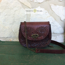 Load image into Gallery viewer, Penelope Mexican Crossbody (Merlot)