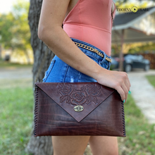Load image into Gallery viewer, Flora Mexican Crossbody (Merlot)