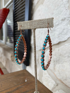 Sedona Teardrop Hoops
