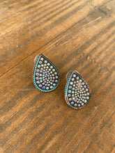 Load image into Gallery viewer, Patina Rhinestone Studs