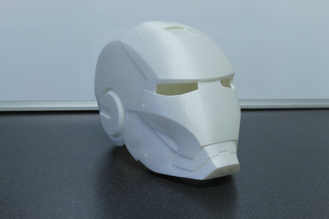 3D Printed Iron Man Helmet