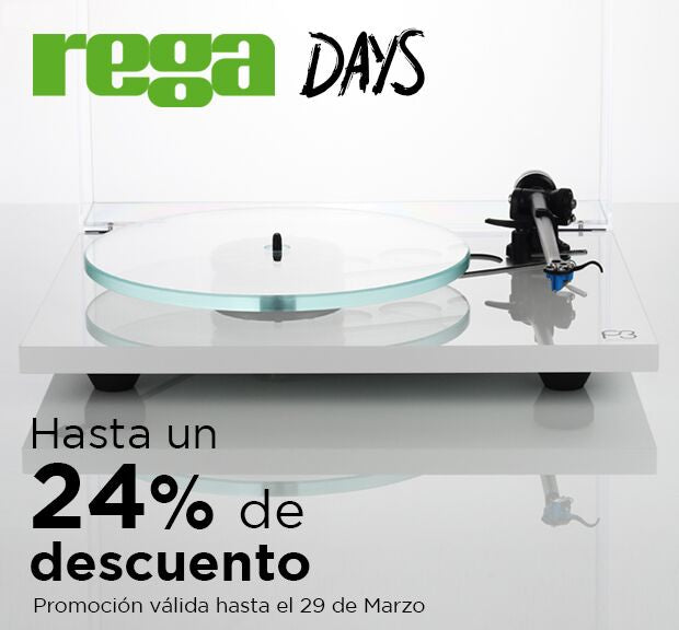 Rega Days promotion!