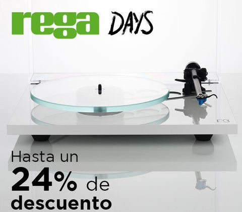 Rega Days promotion - extension until 31st May!