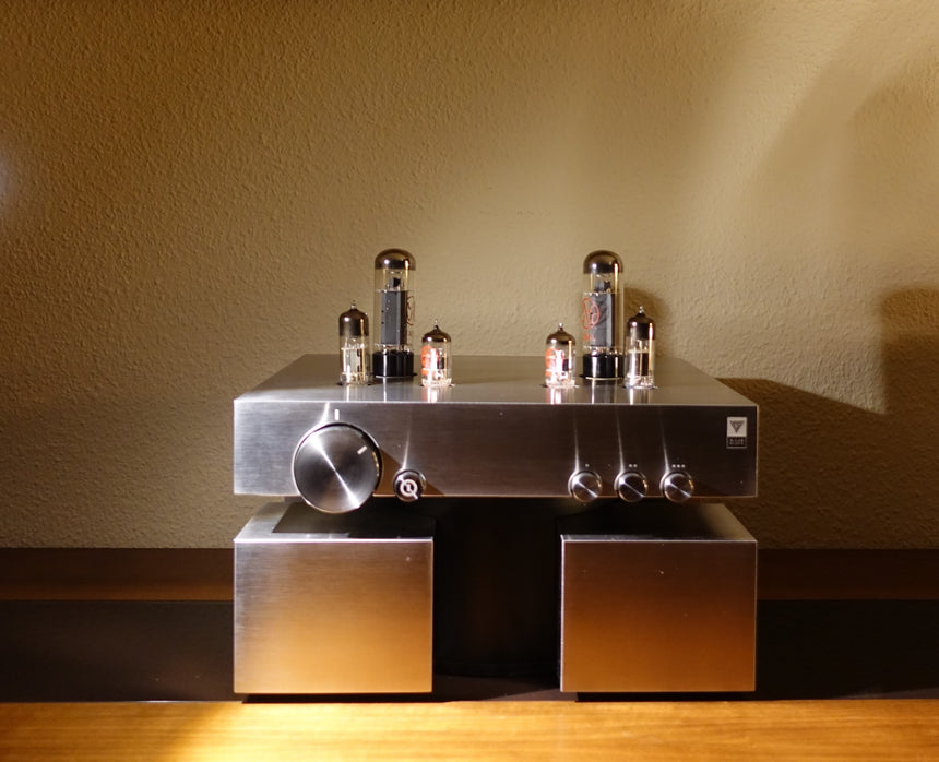 G Lab Design Fidelity BLOCK amplifier SET valve amplifier amplificador de válvulas equipos audio hifi tube amp blue sky musica