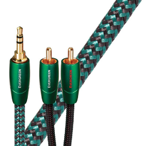Audioquest Evergreen RCA - 3.5mm Analogue Interconnect Cable