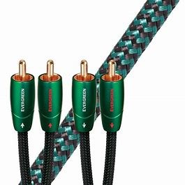 Audioquest Evergreen RCA - RCA analogue interconnect cable