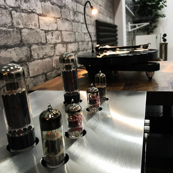 G Lab Design Fidelity Block Amplifier Valves EL34 E88C 6N6P amplificador de valvulas SET amplifier Blue Sky Musica