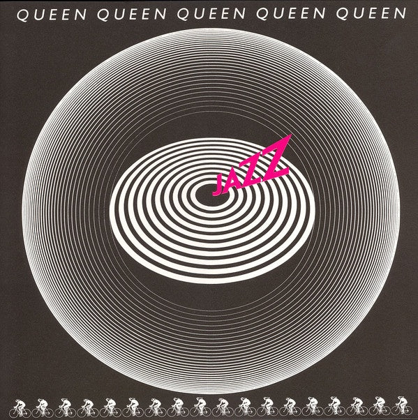 "Queen Jazz Vinyl 2x 12"" LP front cover"