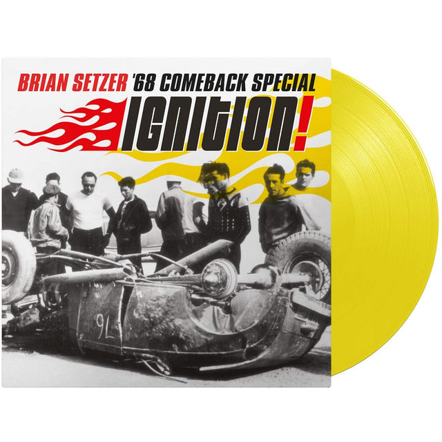 Brian Setzer 68 comeback special Ignition! 2020 reissue yellow vinyl