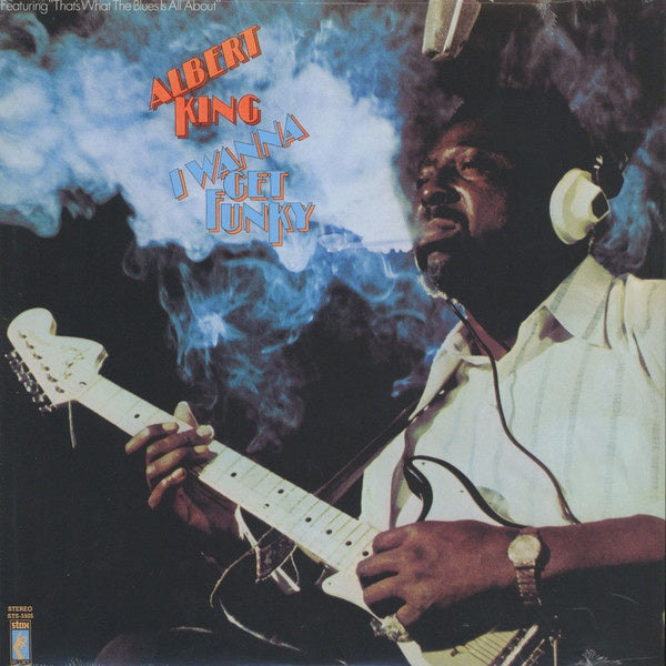 "Albert King I Wanna Get Funky 1x 12"" LP Vinyl - front cover"