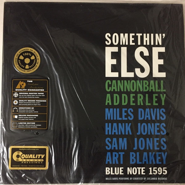 Cannonball Adderley - Somethin' Else (Analogue Productions version)