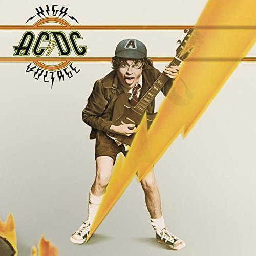 AC/DC High Voltage LP Hard Rock Disco Vinilo Vinyl Blue Sky Música