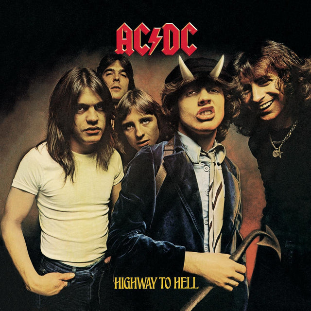 AC/DC Highway To Hell LP 1979 Hard Rock Disco Vinilo Vinyl Blue Sky Música