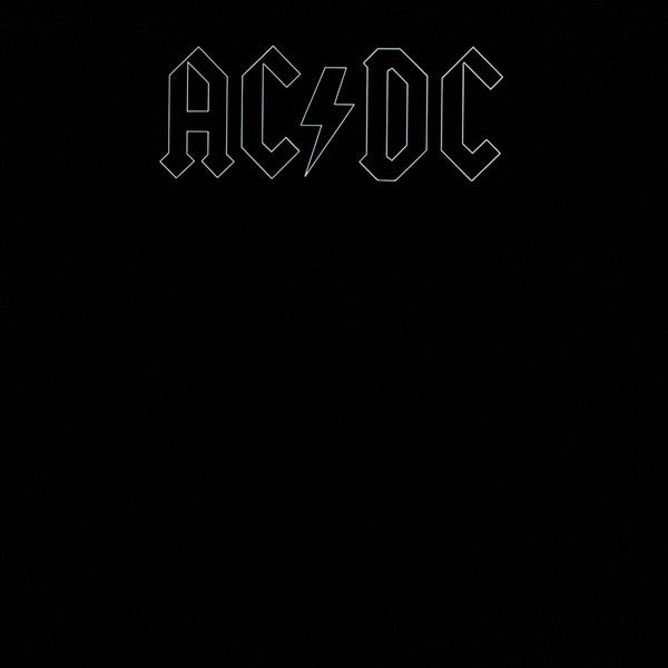 AC/DC Back In Black LP Hard Rock Disco Vinilo Vinyl Blue Sky Música