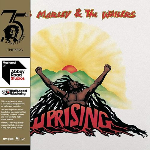 "Bob Marey & The Wailers Uprising Half Speed mastered Abbey Road Tuff Gong 2020 reissue 1x 12"" LP Vinyl"