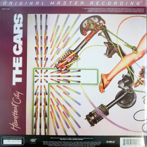 Cars - Heartbeat City (Mobile Fidelity Sound Lab version)