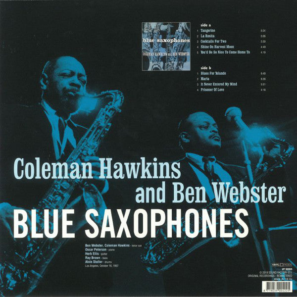 Coleman Hawkins and Ben Webster - Blue Saxophones