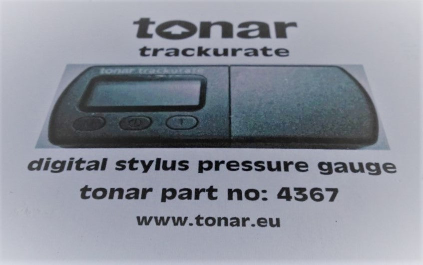 Tonar Trackurate digital stylus force gauge (black)