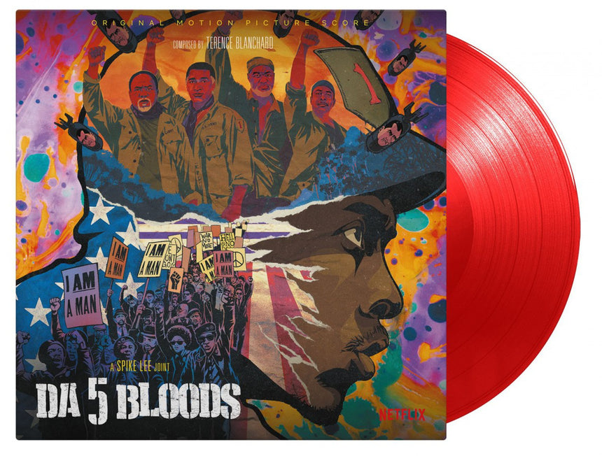 "Da 5 Bloods O.S.T. 2020 2x12"" LP Vinyl Limited Edition Soundtrack"