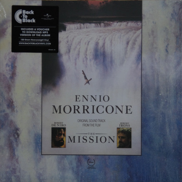"Ennio Morricone The Mission Vinyl 1x 12"" LP front cover"