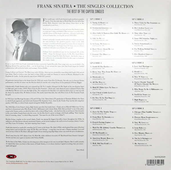 Frank Sinatra - Singles Collection (The Best of the Capitol Singles)