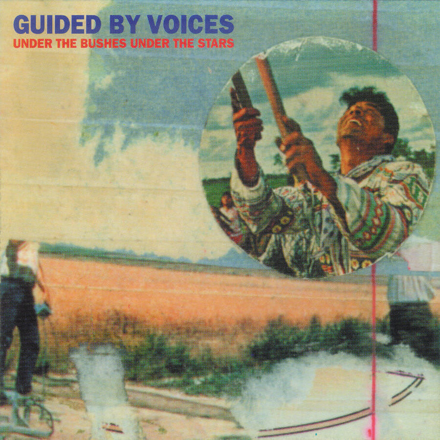"Guided By Voices Under The Bushes Under The Stars 2021 reissue vinyl 1x 12"" LP + 1x 12"" EP"