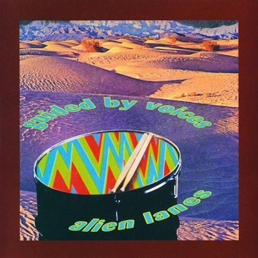 Guided By Voices Alien Lanes 25th Anniversary LP Matador 2020 reissue multicoloured vinyl