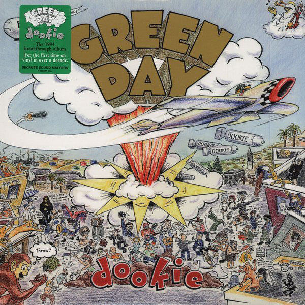 "Green Day Dookie vinyl 1x 12"" LP"