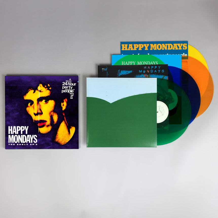"Happy Mondays The Early EPs 4x 12"" LP collection"