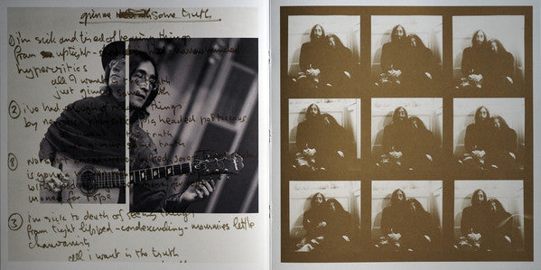 John Lennon Gimme Some Truth 2LP 2020 front cover