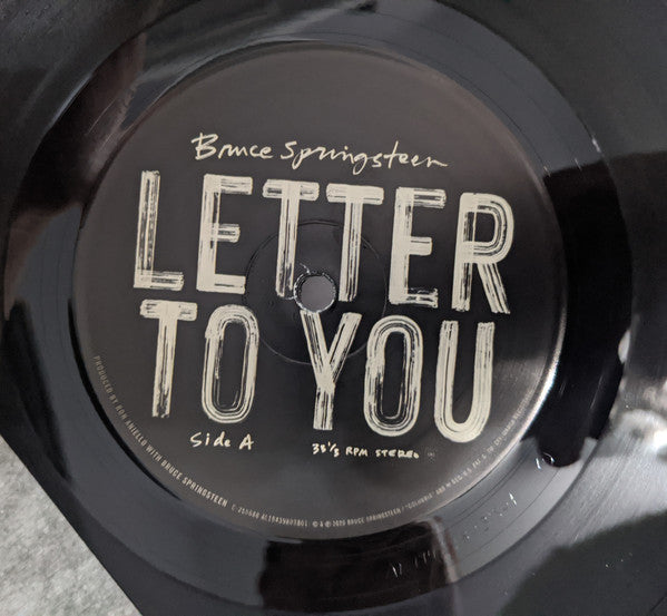 "Bruce Springsteen Letter To You Vinyl 2x 12"" LP Colombia 2020"