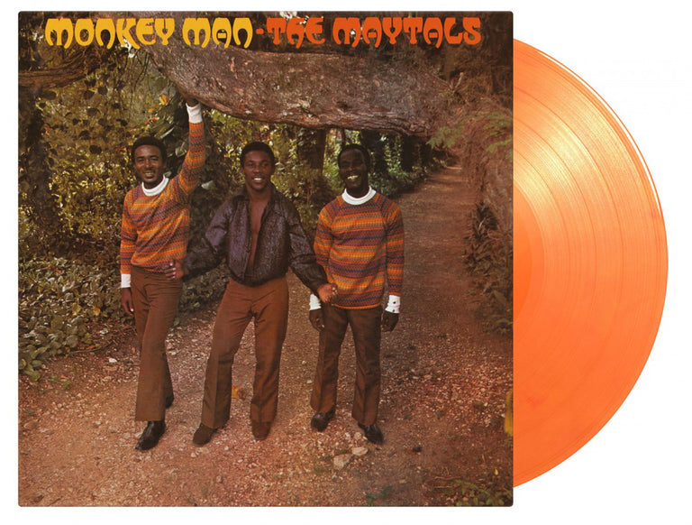 "The Maytals Monkey Man Vinyl 1x 12"" LP Music On Vinyl 2020 limited edition reissue orange vinyl"