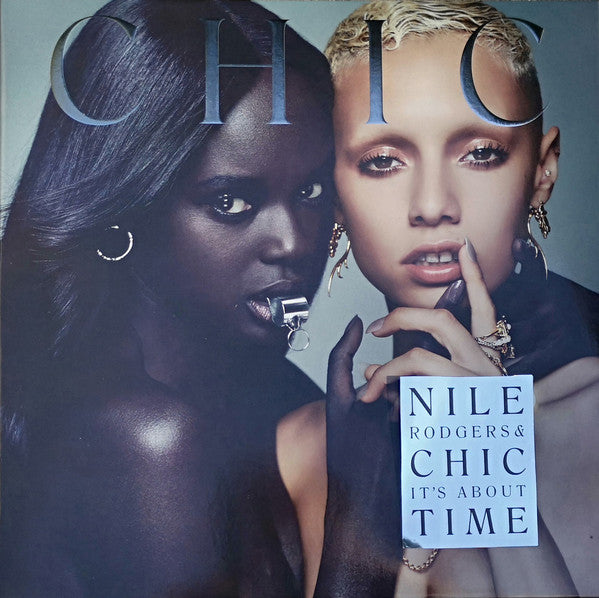 "Nile Rodgers & Chic It's About Time Vinyl 1x 12"" LP 2018 V2 Records"