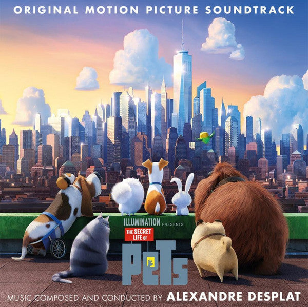 OST - The Secret Life Of Pets (Music by Alexandre Desplat)