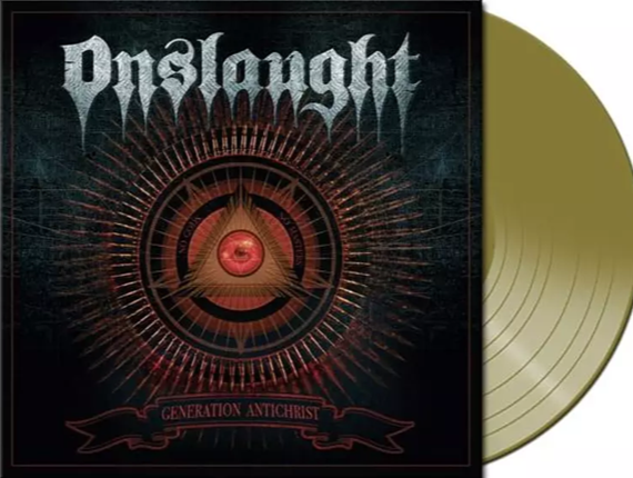 Onslaught Generation Antichrist LP 2020 Gold Vinyl
