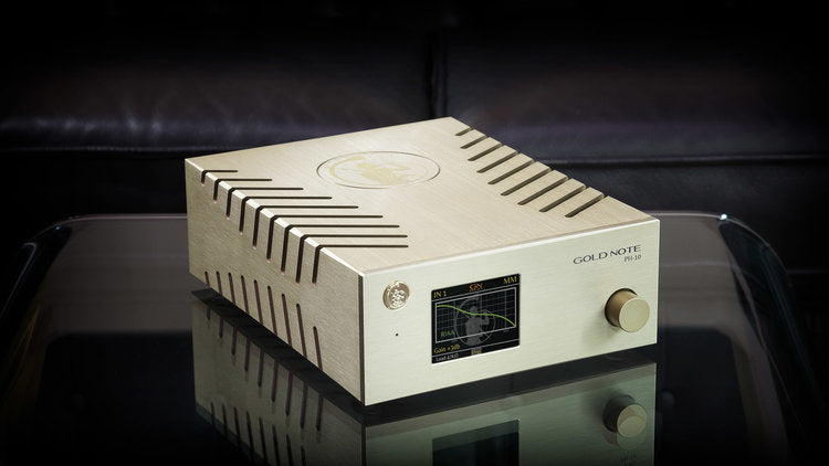 Gold Note PH-10 MM & MC Phono Preamplifier