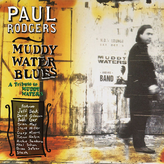 Paul Rodgers Muddy Water Blues 2LP Limited Edition Music On Vinyl Orange Vinyl