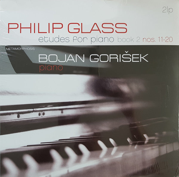 Philip Glass - Etudes for Piano (performed by Bojan Gorišek)